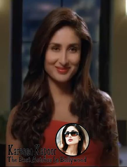 Kareena Kapoor Awesome Look For Phillips Haircare Add