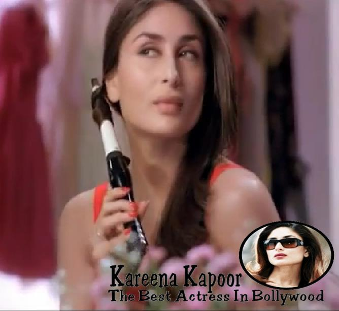 Kareena Kapoor New Look For Phillips Haircare Add