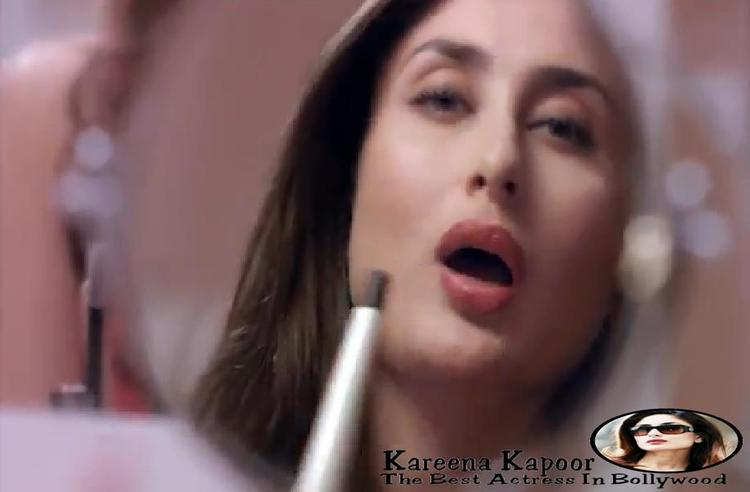 Kareena Kapoor Spicy Pose For Phillips Haircare Add