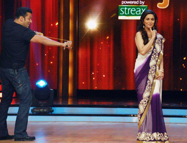 Salman Khan Used a Catapult For Madhuri on Jhalak Dikhhla Jaa 5