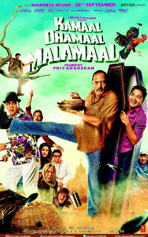 Hindi Comedy Movie Kamaal Dhamaal Malamaal Movie Poster