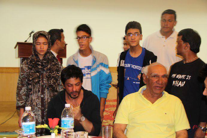 Shahrukh Khan At Ladakh Gala Dinner Photo