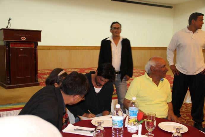 Shahrukh Khan At Ladakh Gala Dinner