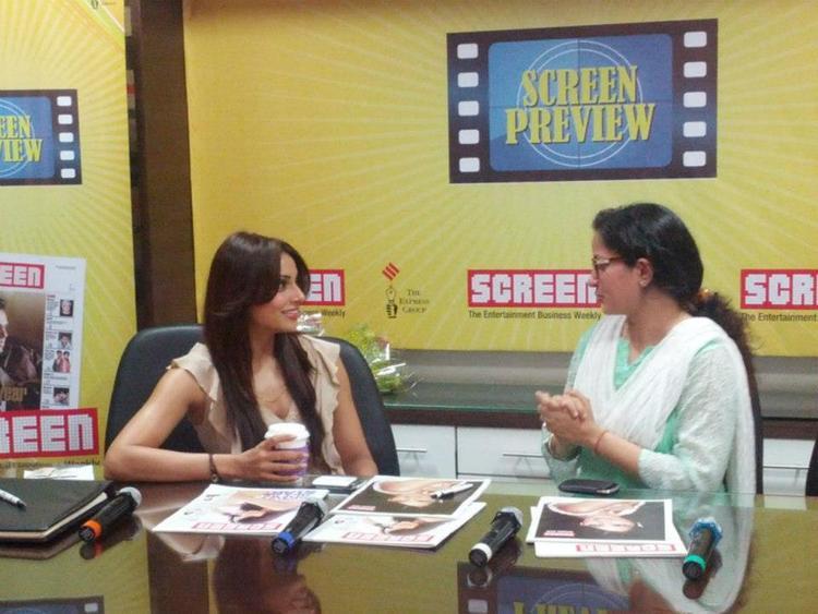 Bipasha Basu at The Screen Office