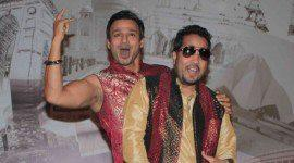 Vivek and Mika On Set Of Kismet Love Paisa Dilli