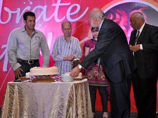 Salman Khan At The 10 Year Celebration of The Magic Bullet