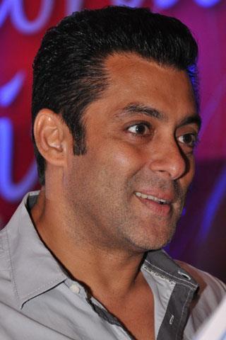 Salman Khan Sweet Smile Pic at The Magic Bullet 10 Year Celebration