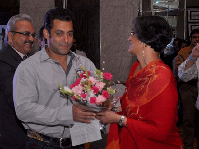 Salman Khan's Welcome Pic