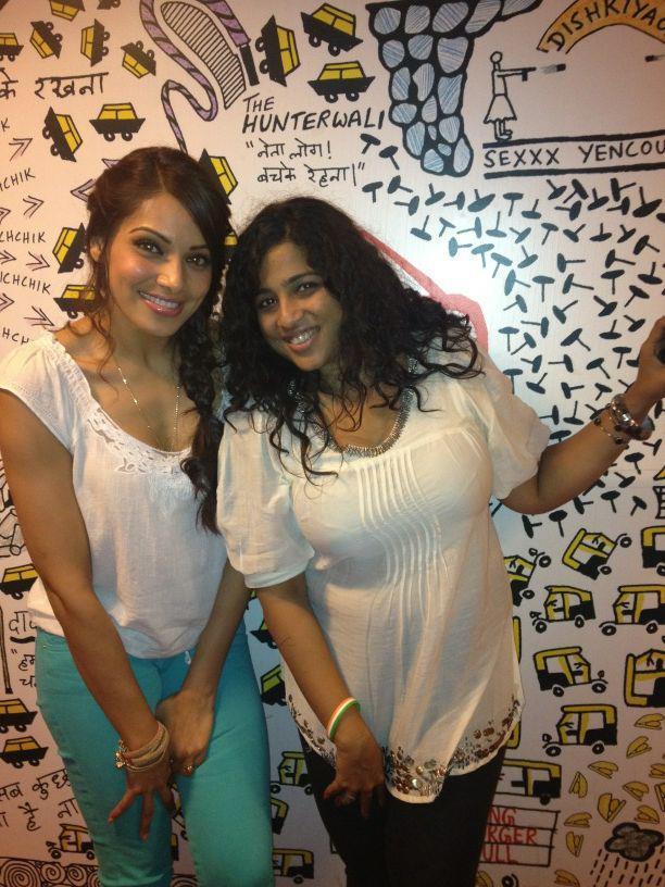 Bipasha Basu During The Promotes Raaz 3 at Various Radio Stations