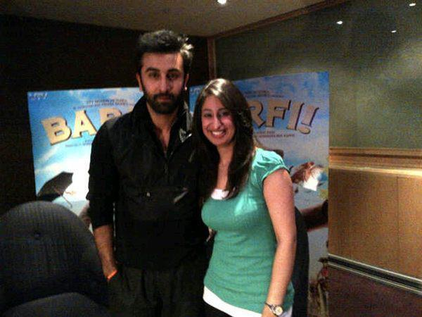 Ranbir Kapoor At Press Junket For Barfi in London