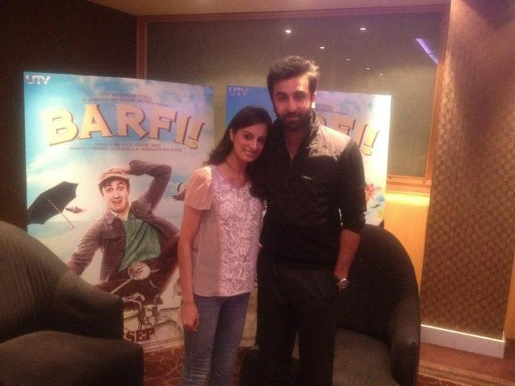 Ranbir Kapoor at the Press Junket For Barfi