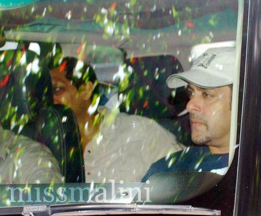 Salman Khan Spotted at Special Screening of Ek Tha Tiger