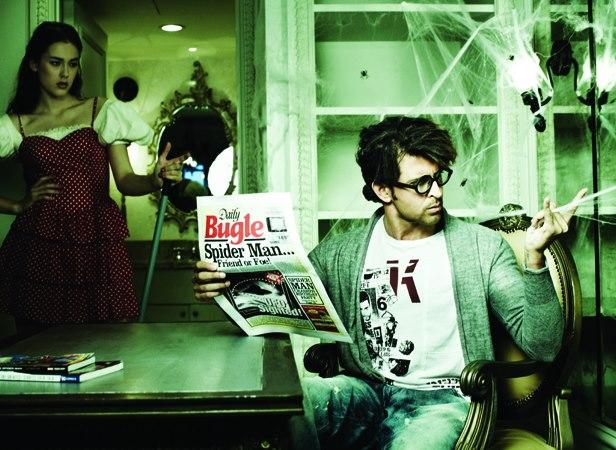 Sexiest Star Hrithik Roshan Photoshoot For Filmfare