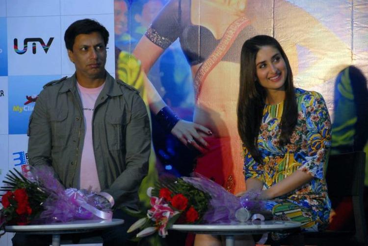 Kareena and Madhur Bhandarkar at The Promotional Event Of Heroine