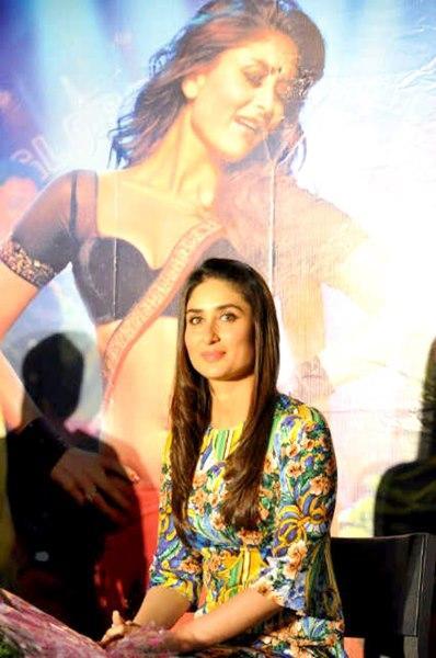 Stunning Babe Kareena Kapoor Promotes Heroine In Gurgaon