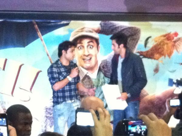 Ranbir Kapoor Promote His Upcoming Movie Barfi In UK