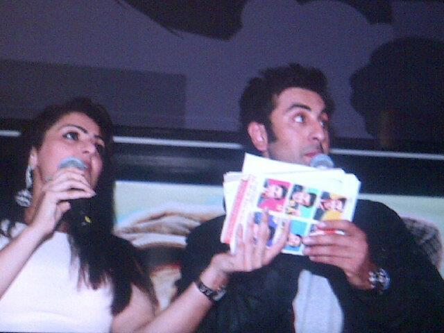 Ranbir Kapoor at The Promotion Of Barfi In UK