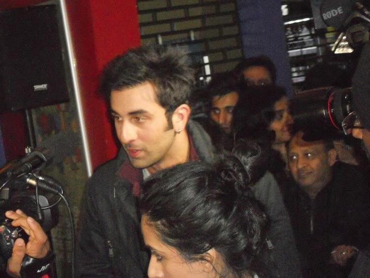 Superstar Ranbir Visits Cineworld Feltham