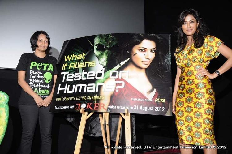 Chitrangda Singh's New PETA Ad