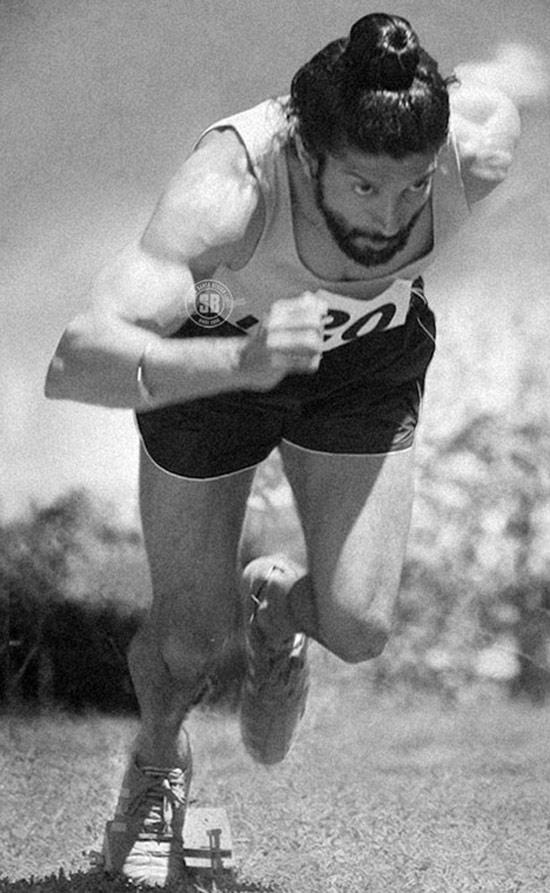 Farhan Akhtar Playing The Lead Role of Milkha Singh One Of The Best Athlete