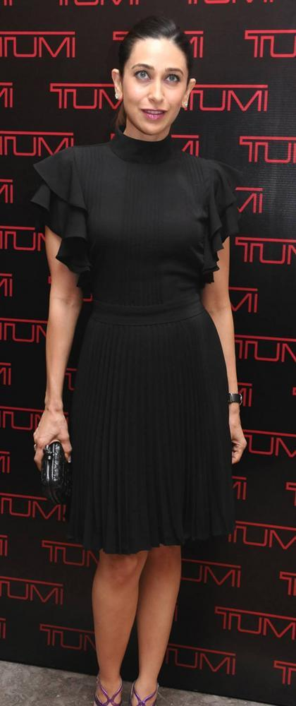 Ever Gorgeous Karisma Kapoor Attended The Tumi Store Launch
