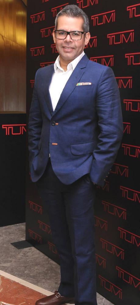 Vikram Raizada At The Tumi Store Launch Event