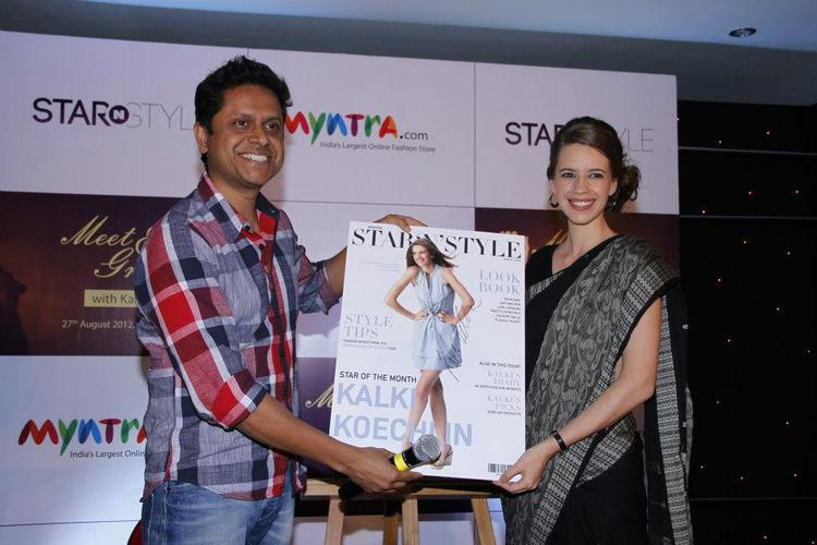Kalki Koechlin Launches Star N Style Poster