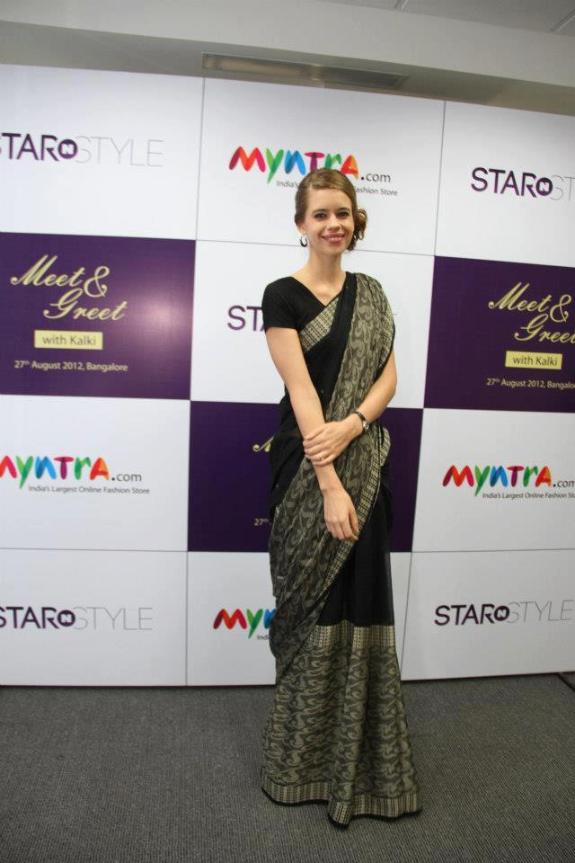 Kalki Koechlin Nice Indian Look Pic