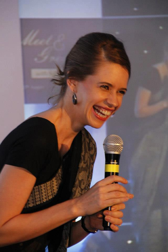 Kalki Koechlin Open Smile Pic During The Event