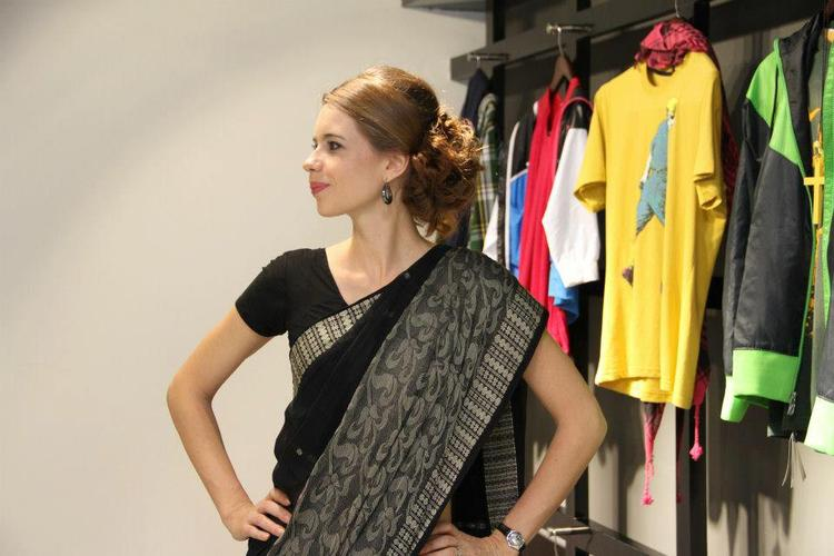 Kalki Koechlin Poses At A Store