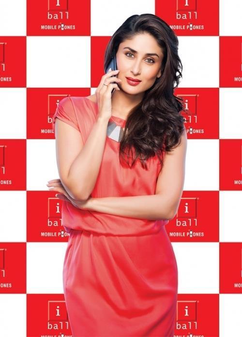 Kareena Kapoor Photo Shoot For iBall Mobile Phones