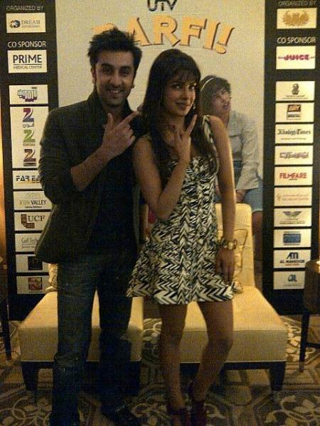 Priyanka and Ranbir Promote Barfi in Dubai