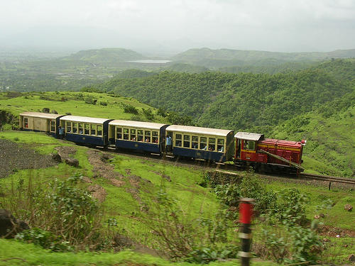 Toy Train at Matheran