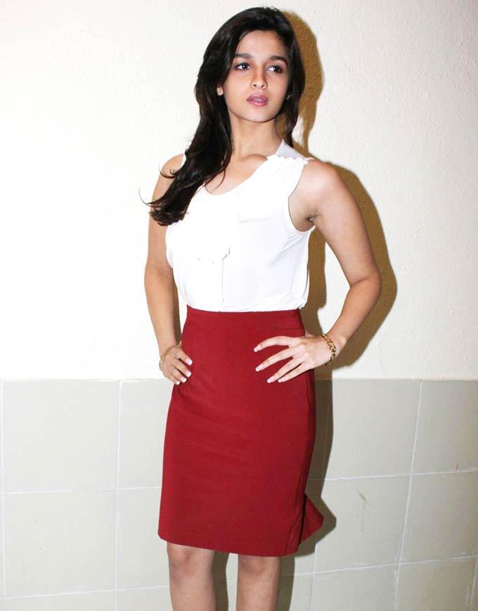 Alia Bhatt at Radio City To Launch Student Of The Year Music