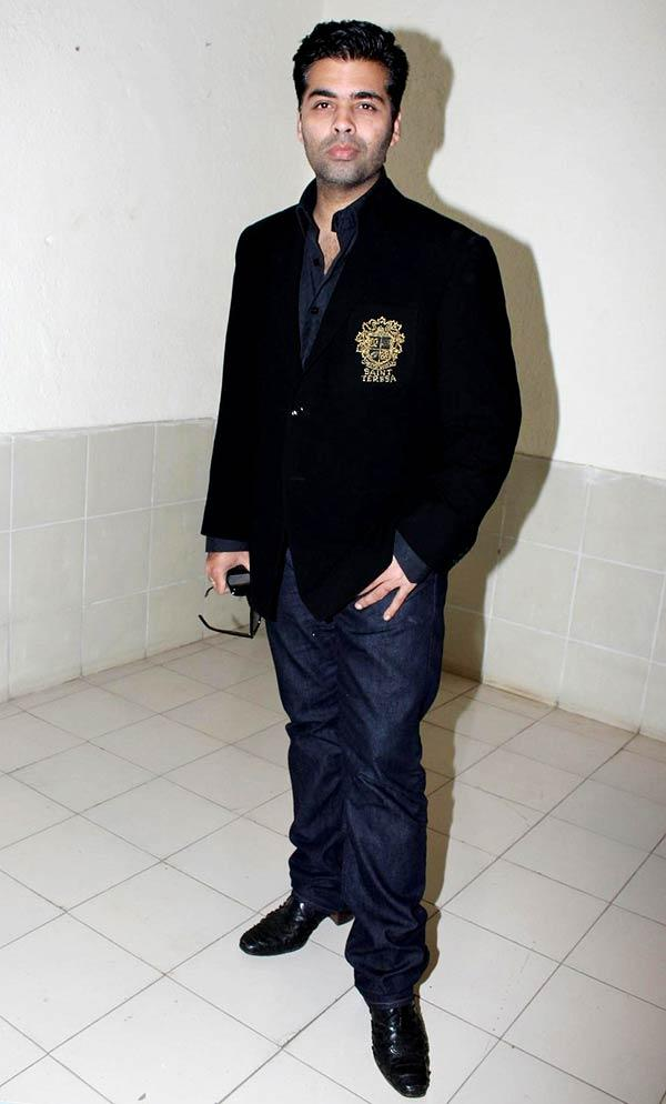 Karan Johar Spotted at Student Of The Year Music Launch