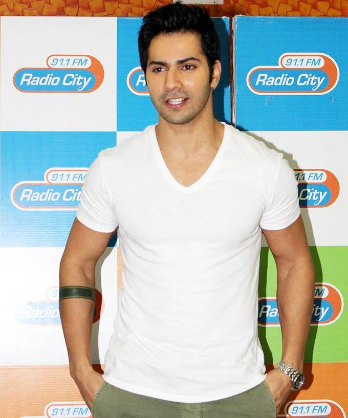 Varun Dhawan at the music launch of Student Of The Year