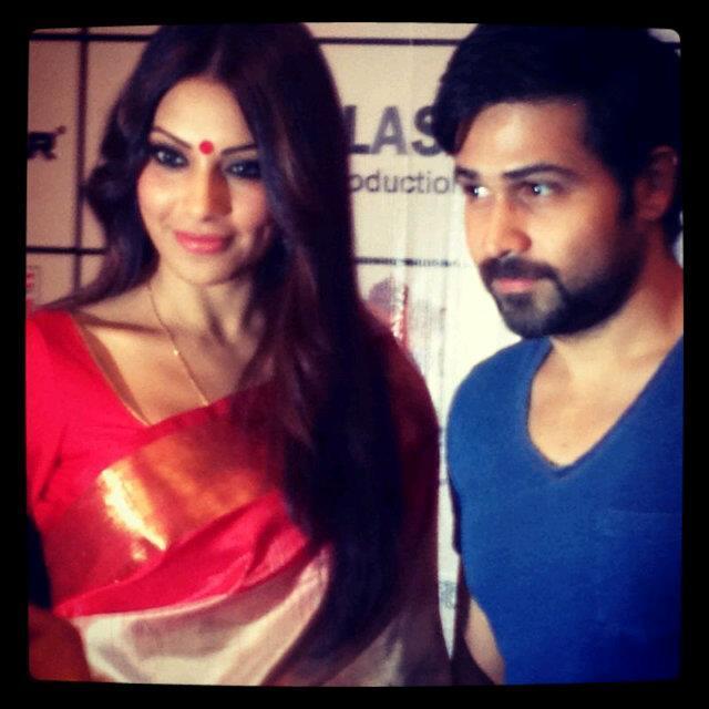Bipasha and Emraan in Raaz 3 Promotions in Kolkata