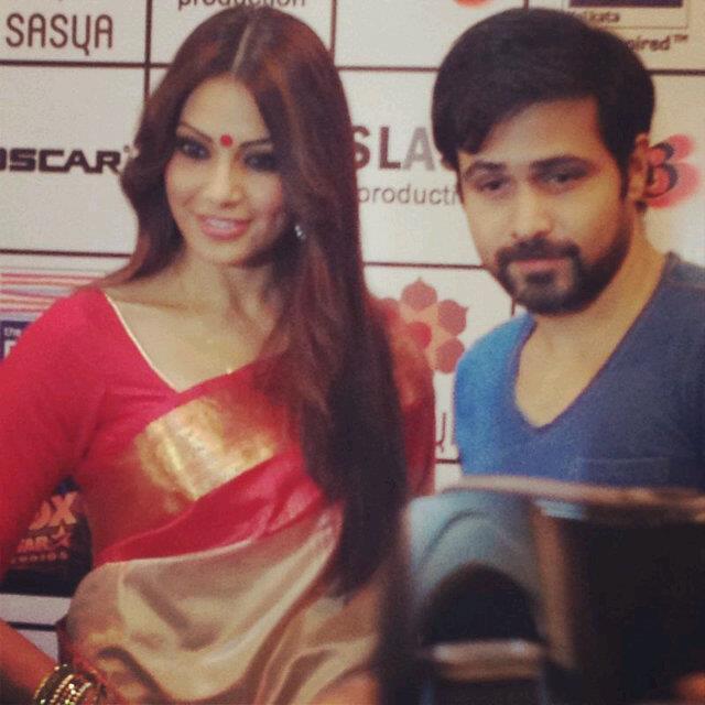Bipasha and Emraan Were Recently In Kolkata To Promote Raaz 3 Movie
