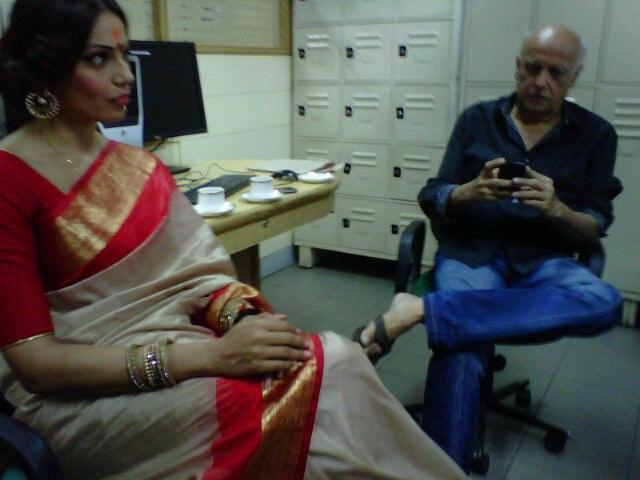 Bipasha and Mahesh At The T2 Office In Kolkata To Promote Raaz 3