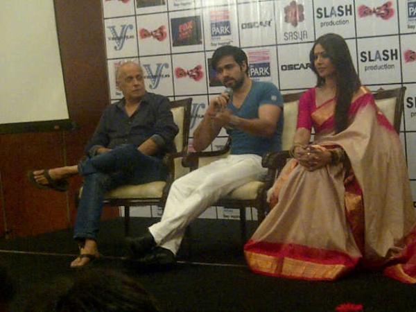 Raaz 3 Crew Promote Their Upcoming Film In Kolkata