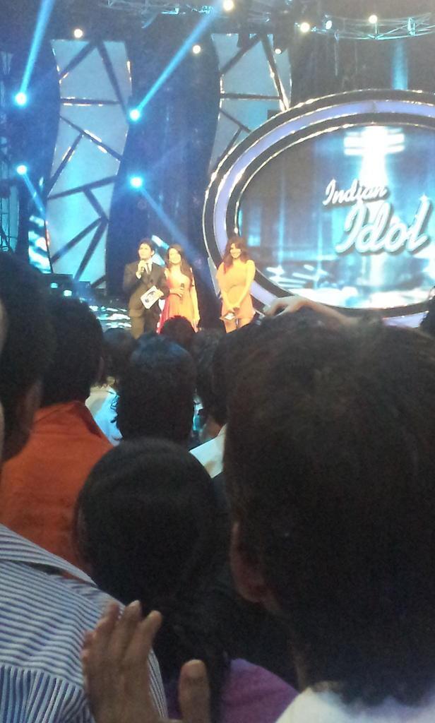 Barfi Promo On The Set Of Indian Idol