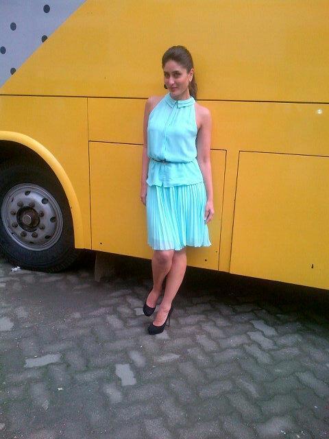 Kareena Kapoor in Pernia Qureshi For Heroine Promotion
