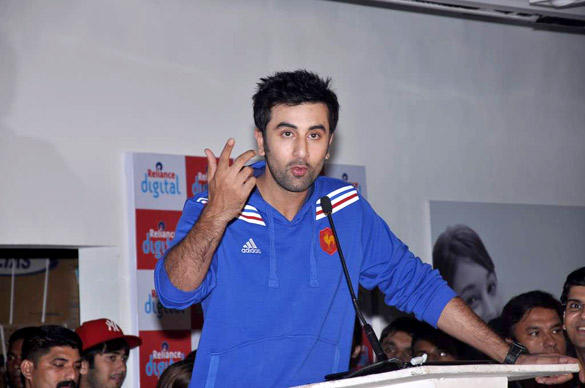 Digital Promotion Of Film Barfi With Ranbir Kapoor