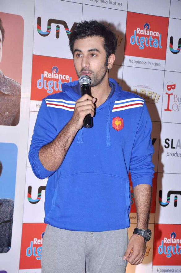 Ranbir Kapoor Speaks During The Promotional Event of Barfi