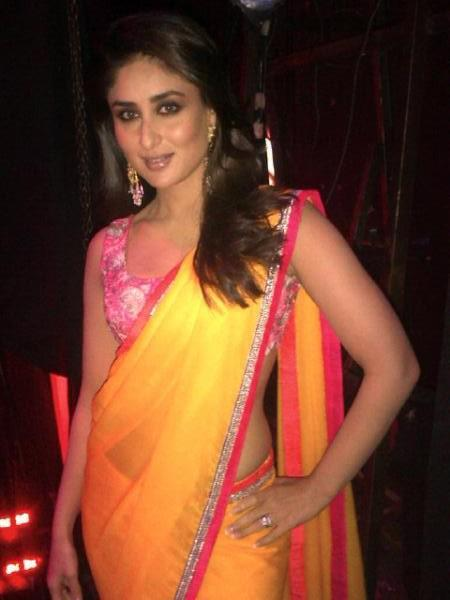 Kareena Kapoor On The Sets Of Indian Idol For Heroine Promotion