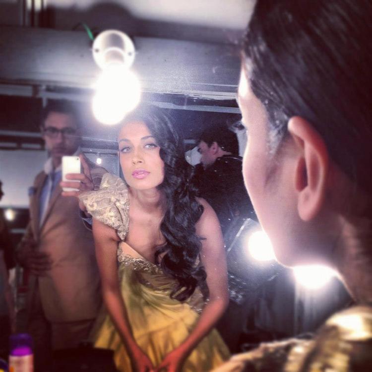 Sarah Jane Dias in Shantanu and Nikhil at Blenders Pride Fashion Preview Tour