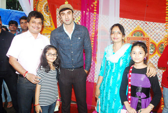 Ranbir On The Sets Of Taarak Mehta Ka Ooltah Chashmah For Barfi Promotion