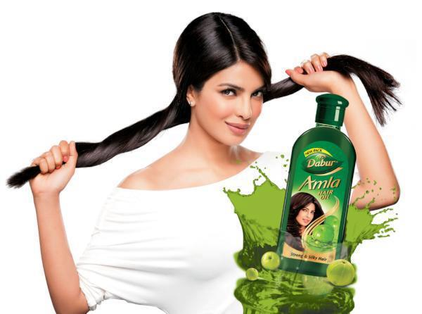 Priyanka Chopra In Dabur Amla Hair Oil Ad