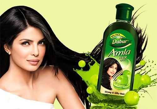 Priyanka's New Print Ad For Dabur Amla Hair Oil