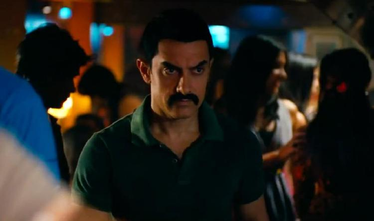 Aamir Khan Angry Look Pic In Upcoming Bollywood Movie Talaash